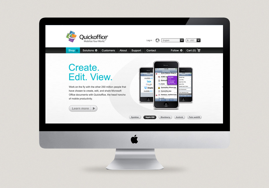 Quickoffice Website
