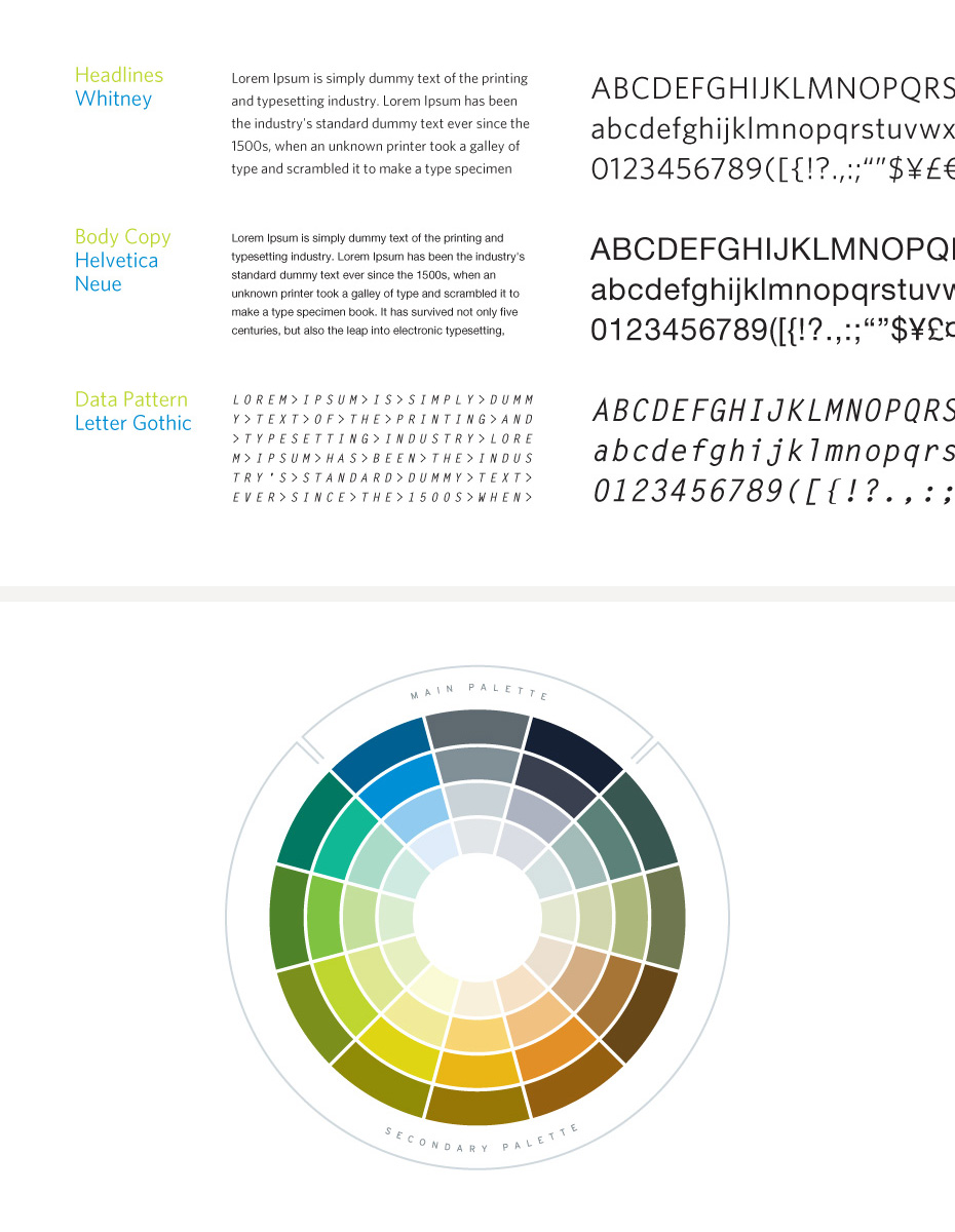 TippingPoint Brand System Color Palette
